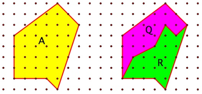 For The Calculations Below, B And I Indicate Boundary And Interior Points,  Respectively. Subscripts Indicate The Attributed Polygon.