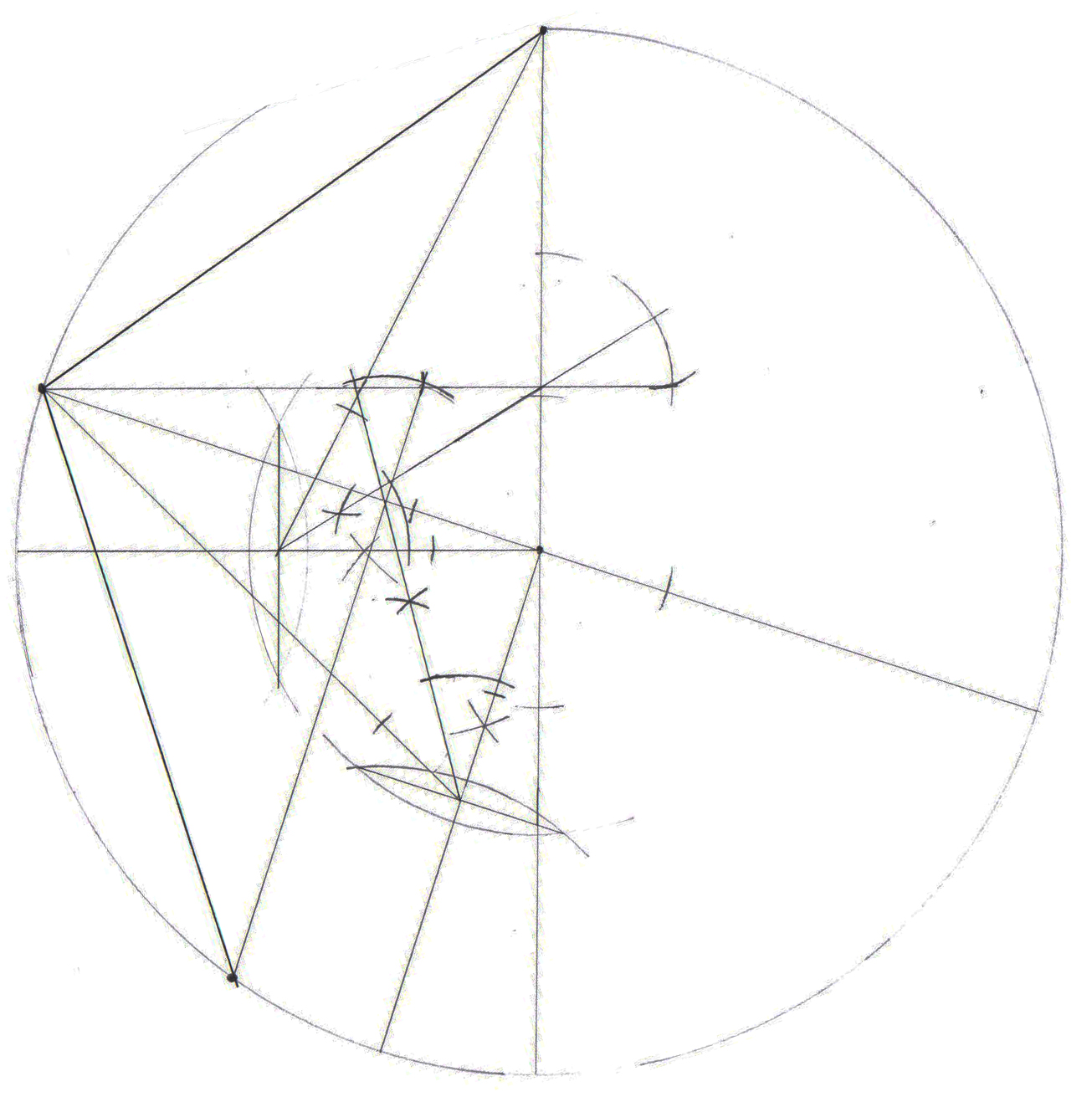gallery for gt how to draw a pentagon on graph paper