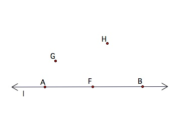 Define Non-Collinear Points at Algebra Den