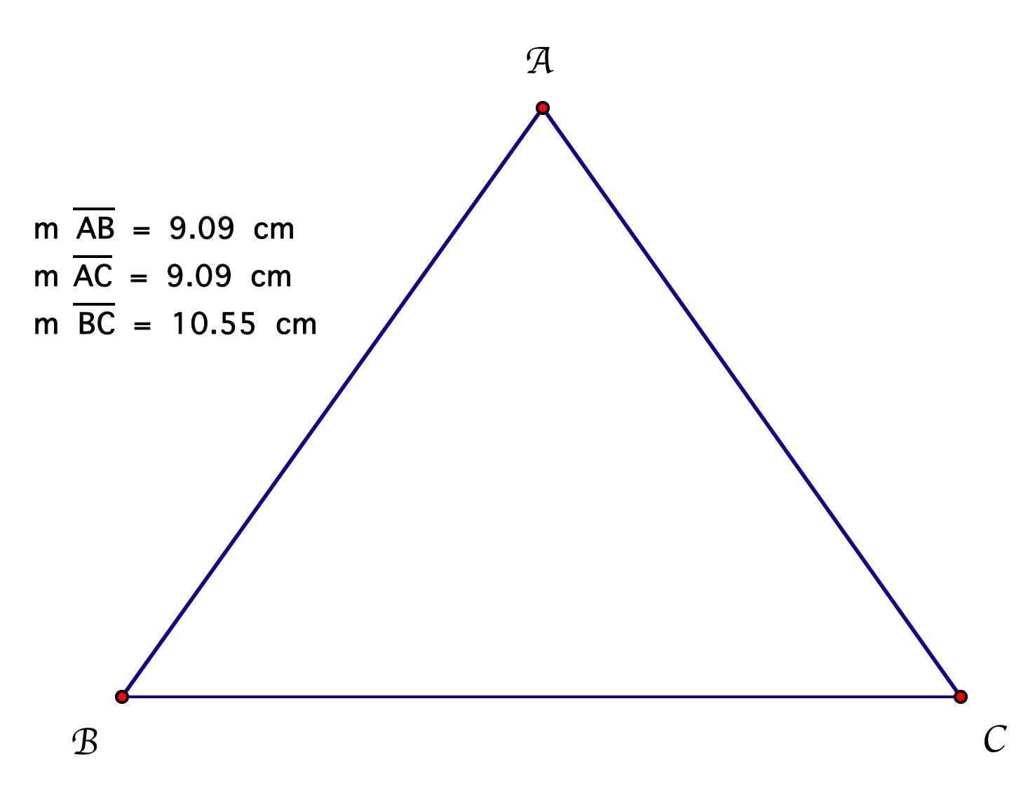 define isosceles triangle -#main