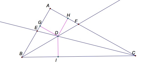 explain how to construct a perpendicular bisector