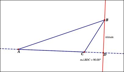 altitude line