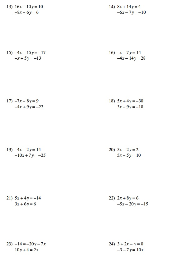 Warrayat Instructional Unit – Algebra Worksheets 8th Grade