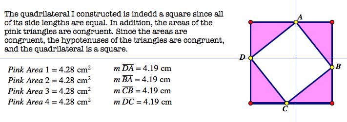 pythagorean theorem proof essay