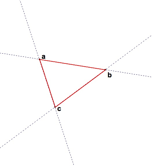 Ass Triangle - Gay Love Three Collinear Points