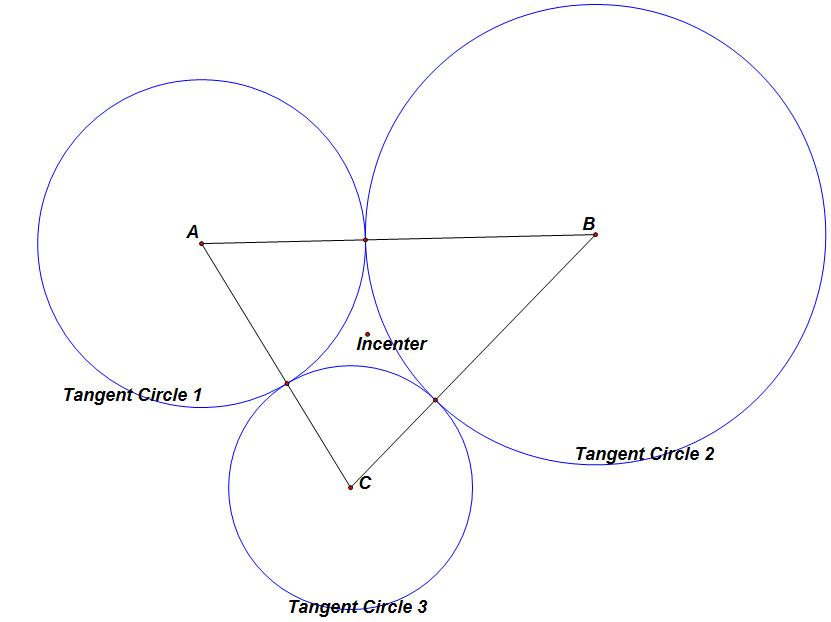 Circle Tangent to Two Circles Two Circles Are Tangent
