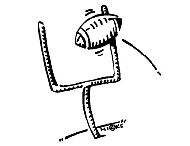 Pin football field goal post clip art on pinterest for Football goal post coloring page