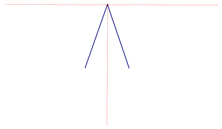 how to construct an obtuse angle and draw its bisector