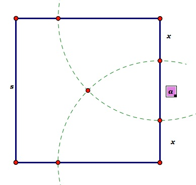 Octagon construction and formulas